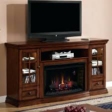 infrared electric fireplace entertainment center country white