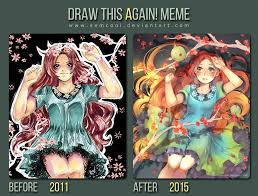 Draw It Again Meme - image result for draw this again meme artist improvement