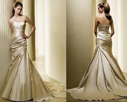 gold wedding gown stunning gold wedding dresses aelida