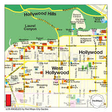 Griffith Park Map Los Angeles City Guide By Red Maps