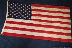 German British Flag Sgm 89 50 Star American Flag Sold War Memorabilia War