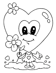 valentine coloring pages coloringpages1001