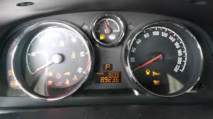 opel antara 2010 opel antara warning lights youtube