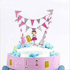 birthday cake toppers doyeemei city girl cake toppers happy birthday party cake