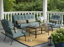 sears outdoor patio wicker furniture set apartment outdoor patio