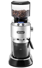 Portable Coffee Grinder Delonghi Dedica Stainless Conical Burr Grinder Kg521m