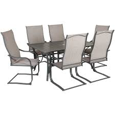 Patio Chairs Cheap Lucca 7 Patio Dining Set Luc 02 World Source