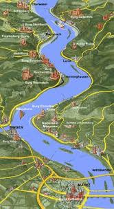 rhine river cruise map see where you will be sailing on your next