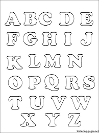 free alphabet coloring pages abc apple matching printable for