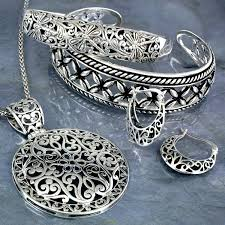 silver necklace from india images Sterling silver dragonfly filigree cuff bracelet jpg