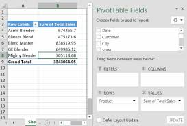 how do you refresh a pivot table beginner lesson 6 refreshing the pivot table pivot table tutorials