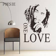 popular love wall decorations buy cheap love wall decorations lots mural home decoration man wall sticker wall romantic one love wall decor black wall sticker for
