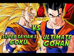 dragonball battle super saiyan 3 goku ultimate