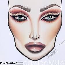 mac makeup drawings makeup daily