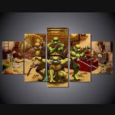 Aliexpress Buy Unframed Teenage Mutant Ninja Turtles
