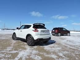 nissan juke vs ford ecosport 2015 chevrolet trax vs 2015 nissan juke autoguide com news