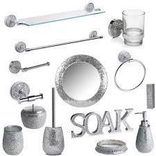bathroom accessory sets cets chrome bathrrom accessories ideas