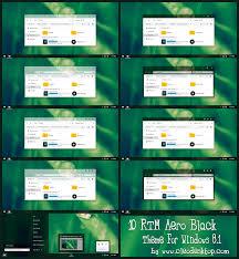 black themes windows 8 windows10 aero theme for windows 8 1 windows10 themes i cleodesktop