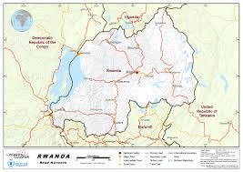 Rwanda Map 2 3 Rwanda Road Network Logistics Capacity Assessment Wiki