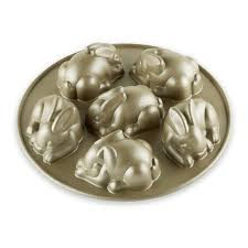 bunny cake mold nordic ware mini easter bunny cakelet pan williams sonoma