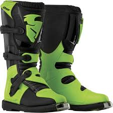 motocross riding boots thor blitz colored boots youth mx alliance