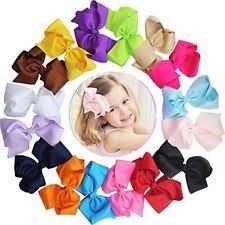 baby hair ties girl babies hair bows ebay