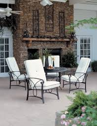white patio furniture sets dining room comfortable pillow set with perfect outdoor wicker