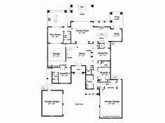 Mediterranean House Plans With Courtyard Alternate First Floor Layout Fairytale Cottages Pinterest