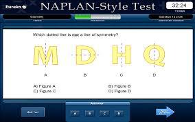 eurekas naplan style maths tests year 7 educational software
