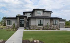 prairie style home spracklen builtmodern prairie style home spracklen built