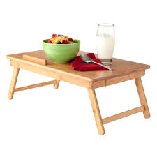 Laptop Bed Tray by Wood Folding Desk Laptop Table Breakfast Bed Serving Tray Yugster