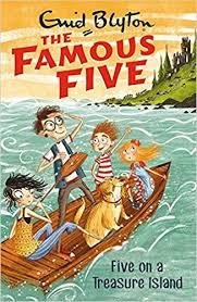treasure island book report five on a treasure island book 1 famous five amazon co uk