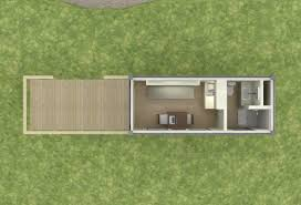 Shipping Container Remote Cabin Floor Plan Living Small Remote Cabin Floor Plans