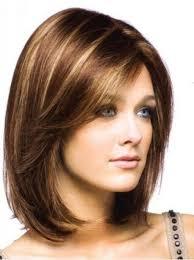 hairstyles women medium length medium length haircuts with side bangs shoulder length layered