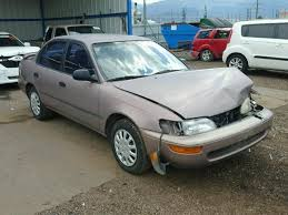 toyota corolla sedan 1993 auto auction ended on vin 1nxae09e3pz105117 1993 toyota corolla