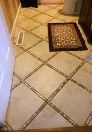 bathroom tiling a bathroom floor around a toilet how to lay