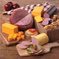 meat and cheese gift baskets meat and cheese party gift pack nueske s