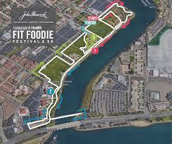 San Diego City Map by Fit Foodie 5k San Diego Ca