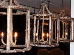 Lantern Chandelier Lighting Reclaimed Wood Lantern Chandelier Hudson Goods