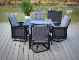 Wicker Patio Dining Chairs by Pebble Lane Living