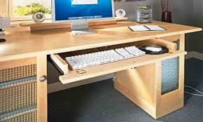 modular computer desks adjustable keyboard tray under desk