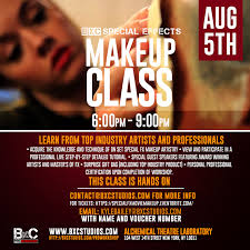 sfx makeup classes bxc special effects makeup class bxc studios