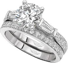 engagement rings with baguettes martin flyer baguette and pave engagement ring 4209ffcxwr