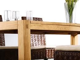 table cuisine chene table de salle à manger table de cuisine chêne clair 150 cm