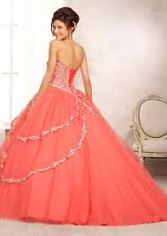 quinceanera dresses coral quinceanera dress from vizcaya by mori style 88091 multi