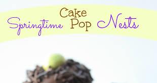 munchkin munchies springtime cake pop nests