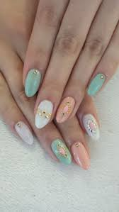 96 best oval almond nails images on pinterest nails almond