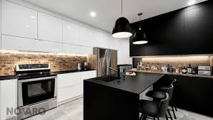 novaro cuisine armoires de cuisine contemporaine armoires de cuisines québec
