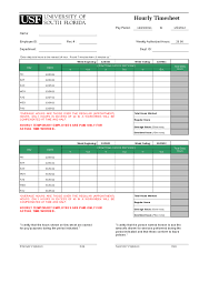Hourly Timesheet Template Excel Hourly Timesheet Template Hashdoc