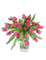 pink passion tulip arrangement in phoenix az robyn u0027s nest
